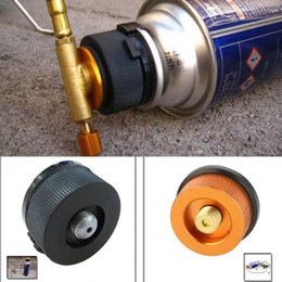 Wholesale Hot Sale Outdoor Camping Hiking Stove Adaptor Conversion Split Type Gas Furnace Connector Cartridge Tank Adapter