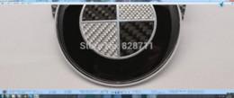 Wholesale x2 mm mm Real Carbon Fiber trunk badge Emblem For Convertible Car emblem manufacturers