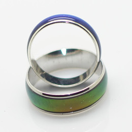 mix size 6mm mood ring changes color to your temperature reveal your inner emotion