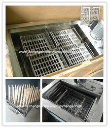 Wholesale Popsicle mold stainless steel ice lolly mold ice pop mold for popsicle machine commericial use basket mould ml High quality food class