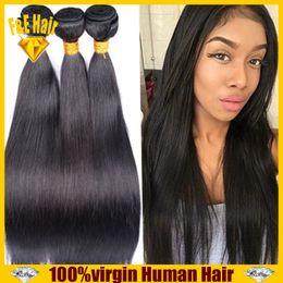 Peruvian Human straight hair weave 4pcs lot Products Unprocessed Soft Brazilian Virgin Hair straight Unprocessed Virgin Peruvian Hair Weave