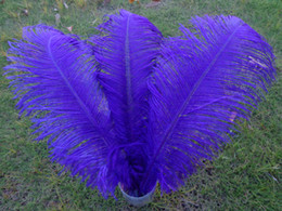 Wholesale_100 pcs a lot 6-24inch purple Ostrich Feather Plume for Wedding Centerpieces table decoration