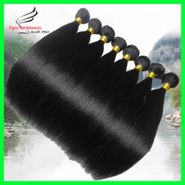 Wholesale Malaysian Virgin Hair Extensions Human Hair Weave Straight Hair Weave Bundles Good Quality No Shedding inch Available