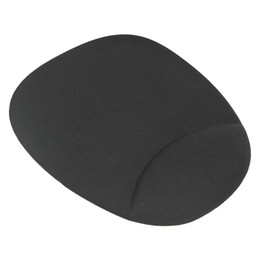 Manufacturer Wholesales 100% Brand Silica Gel Mouse Pad with Wrist Rest Support Mat for Computer&Laptop-MO501-Customized Negotiable