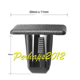 Wholesale Interior Accessories Auto Fastener Clip x Nylon for Jeep Grand Cherokee Rocker Panel Clip FR56DX9 panel form