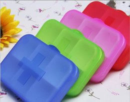 Wholesale Pill cases Cells Mini Pill Storage Box Plastic Cases for Medicine Drug Jewelry Organizers Medication pill box