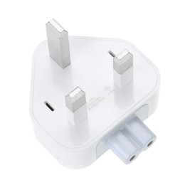 Wholesale AC Adapter UK United Kingdom Standard pin Plug for Apple iBook MacBook Pro