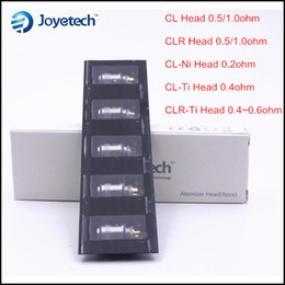 Evic vtc à vendre-100% d'origine Joytech eGo Un Bobines CL CLR 0.5 1.0 CLR-Ti-Ti 0,4 CL CL-Ni 0,2 Ohm sous TC Coil chef pour moi un mini-méga evic vt vtc 60w kit