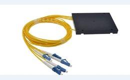Wholesale Factory Direct PLC splitter single mode fiber LC cassette splitter X4 LC UPC