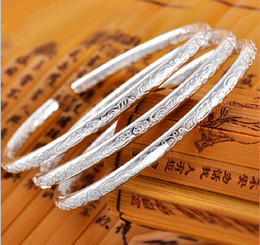 Wholesale Bohemia Fine Silver Bracelet Sterling Silver Jewelry Women Bracelets For Women Love Bracelet Tibetan Silver