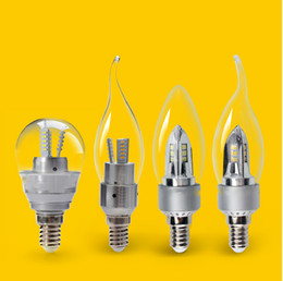 New arrvials Super bright LED Candle Lamp Tailed Bulb E14 Base LED Bulb high lumen and high CRI epistar chip CE RoHS Approved