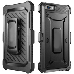 Wholesale Full body Supcase Unicorn Beetle PRO Series Rugged Hard Cover Case With Swiveling Belt Clip For iPhone Plus S Samsung S6 Edge DHL