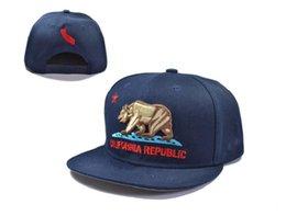 Wholesale Cap Republic - New 7 styles California Republic Collection snapback hats cheap Adjustable hot sale men baseball hip-hop cap