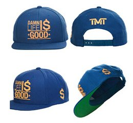 Wholesale Cap quot Damn life is good quot Snapback hat money TEAM HARD WORK DEDICATION MAYWEATHER Fashion Adjustable Snapbacks Baseball Caps hats