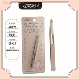 Wholesale Limited Eyebrow Trimmer Kryolan Knife Guangzhou Latin American Pull A0171 eyebrow Tweezers Professional Beauty Makeup Tool
