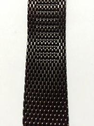Descuento ver negro núcleo suunto Envío al por mayor-Libre Para el acero de 24 mm de la armadura de Milán sólido Suunto Core reloj de la correa de la venda / la correa agarraderas de adaptadores Herramientas + + Negro