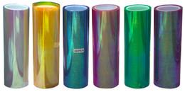Changement de couleur des phares en Ligne-100 * 30cm Brillant Chameleon Auto Car Styling phares Feux arrières Feux de film translucide Tourné Changer la couleur Film de voiture Stickers BY0000