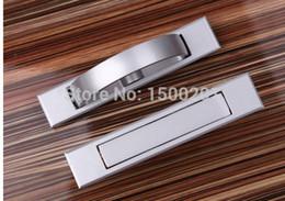 Wholesale NEW Aluminum alloy Cabinet Knobs and handles Furniture handles Door Drawer knobs Screw Screw Kitchen handle HE07