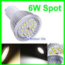 2017 e27 ce smd PAR16 E27 GU10 LED 6W projecteurs 600 lumens chaud / cool blanc 15pcs 5630 SMD ampoules LED 110-240V + CE ROHS abordable e27 ce smd