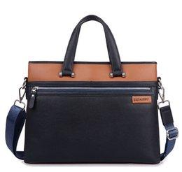 Wholesale mens briefcase mens leather bag man bag business office handbag laptop messenger bag designer computer bag brand name handbag korean bag
