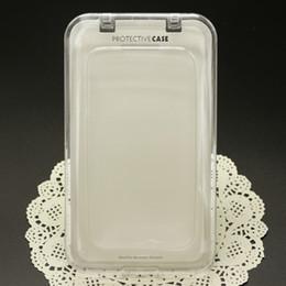 2017 teléfonos celulares casos de cuero Paquete cristalino de la caja de embalaje para la cubierta trasera del cuero de la caja de la carpeta del teléfono celular para Samsung S5 Note3 4.7