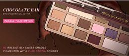Wholesale New Brand Makeup Chocolate Bar Eye Shadow Collection Makeup Colors Palette sombra maquiagem paleta de sombras g