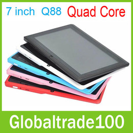 Wholesale 7 inch Tablets PC Android Allwinner A33 Quad Core GB RAM GB ROM HD Touch Screen Dual Camera Tablets