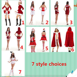 2015 new Christmas costumes COSPALY game uniforms role-playing game uniforms Halloween costume Seven kinds Mascot style options