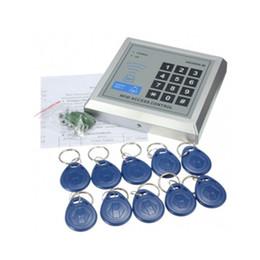 Promotion entrée de la porte de sécurité Meilleur système de sécurité de vente de proximité RFID Entrée Door Lock Access Control 500 Utilisateur +10 RFID Keyfobs avec mode d'emploi en anglais