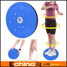 Wholesale Twist Waist Torsion Disc Board Aerobic Exercise Fitness Reflexology Magnets Blue Orange Purple Twist Plate Twist Boards