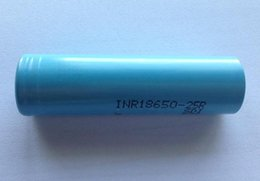Wholesale Authentic AAA Rechargeable Lithium Battery INR A discharge rate cell Battery INR18650 R High Drain Free DHL