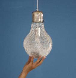 Wholesale Hot sale brand new Antique Industrial DIY BIG Edison Bulb Glass Ceiling Lamp Pendant Light Home Bar