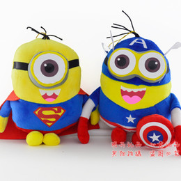 Wholesale Hot Sale Cartoon Movie Despicable Me Figure Minions Plush Toys Yellow Doll Soybeans For Kids Halloween Christmas Gifts CM