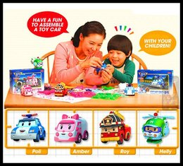 Wholesale New Robocar Poli Deformation Car Bubble South Korea Thomas Toys DIY Products Learning Education Baby Toy Classic Toys