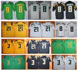 Wholesale 2016 New cheap Oregon Ducks Jersey Marcus Mariota Vernon Adam Jr Royce Freeman Jersey Authentic NCAA College football jerseys
