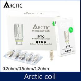 Wholesale 1 clone Horizon Arctic BTDC Coils Sub Ohm Replacement Coil for arctic tank Subtank atomizer by DHL free