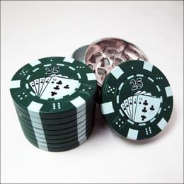 3 Parts Tobacco Herb Grinder Chip GRINDER 42*31mm 90g 12pcs Per Box Creative Metal Smoking Tools