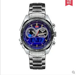 DHL Sports Watches hot premium Brand TVG Upgrade Men's Watches Digital LED Military Watch Stainless Steel Watch Male Clock Relogio Masculino