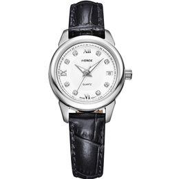 Wholesale-WEIDE Women Luxury Wedding Couple Brand Wristwatches Modern Leather Strap Romantic Vogue Korean And European Style Women Watch