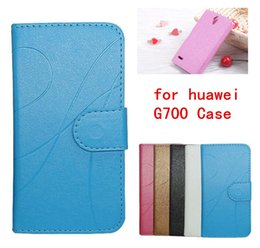 Vintage Design PU Leather Case for huawei g700 Stand Wallet Card Slot Photo Frame Mobile Phone Cover for huawei g700 Case Free shipping