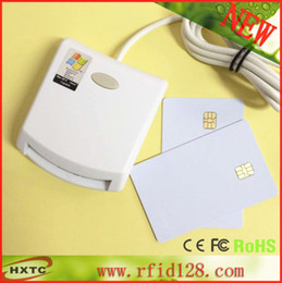 Wholesale Contact EMV SIM eID Smart Chip Card Reader Writer Programmer N99 For ISO7816 Memory Chip Cards With Test Cards amp SDK Kit