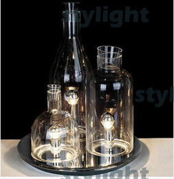 Wholesale ITRE Rosati Bacco bottle table lamp fashion glass table lighting