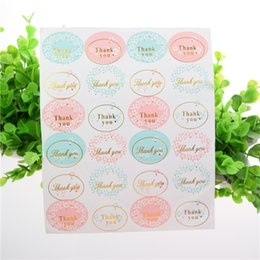 100sheet Thank you wedding favors guest gifts seal sticker gift wrapping sealing labels packaging labels wedding party decorations DIY label