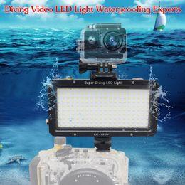Wholesale Mcoplus LE Y M ft K Diving Underwater Waterproof Video LED light with Built in Lithinum Battery for Digital Camera Gopro hero