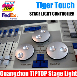 Wholesale Cheap New Tiger Touch DMX Controller with carton box Titan Operating System LCD Touch Screen