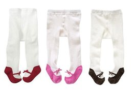 9pcs lot Cute girl Tights childrens pantyhose Cotton children stocking baby Panty-hose