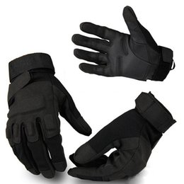 Wholesale New Tactical Cool Weather Shooting Bike Cycling Motor Bicycle Sport Outdoor Gloves Size M L XL A01032
