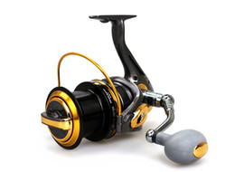 Wholesale 2015 New Big Size Surf Casting Reel Long Shot Wheel Distant Wheel Spinning Reels Sea Fishing Bearing