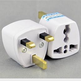 Universal Travel Charger EU US AU CN to UK Power Plug Adapter UK Travel Charger Adapter AC Power Plug Converter Free DHL