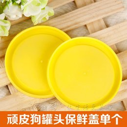 Wholesale lid freshness seal canned dog dog wet food canned dog and cat cover